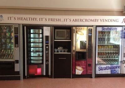 Healthy Fresh Food Vending Machine