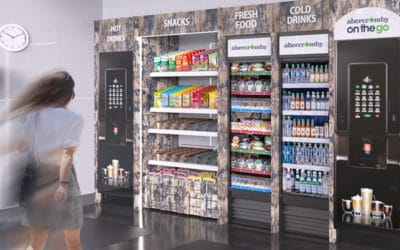 Abercromby vending machines in the workplace
